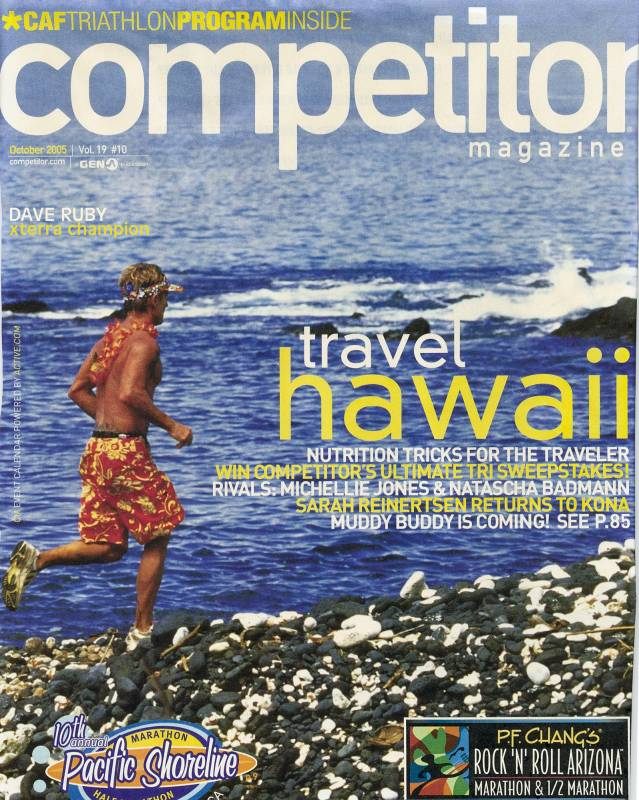 Dave on Cover of Competitor